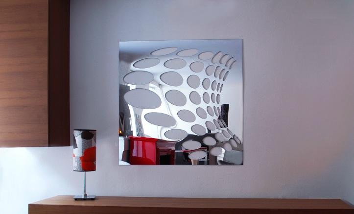 Exemple de miroir design / miroir décoratif
