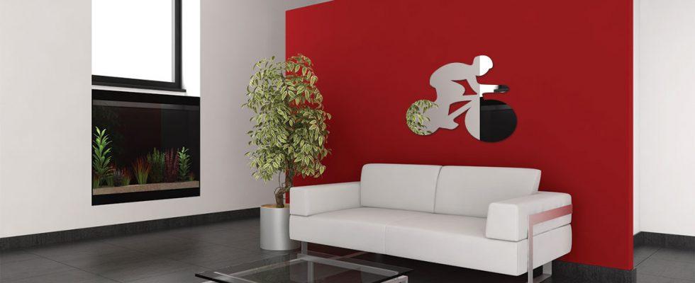 un miroir d coratif pour le tour de france blog deco et design. Black Bedroom Furniture Sets. Home Design Ideas