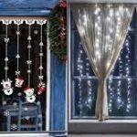 Distinguez vos vitrines, voilages et stores pour Noël
