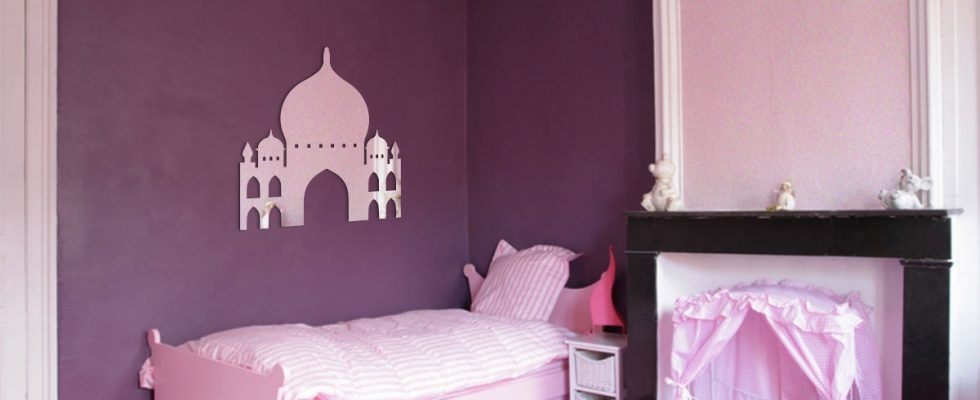 Miroir décoratif Taj Mahal